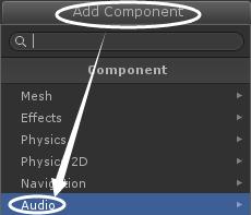 Unity3d游戏开发教程Audios音效简介
