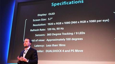 索尼PS VR将于10月发售 并与unity3d游戏开发合作