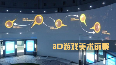 3D游戏美术前景如何?
