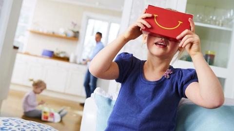 吃货注意,且看麦当劳的VR营销策略