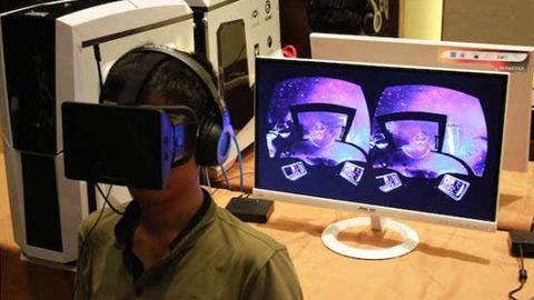 英伟达推出首款虚拟现实游戏