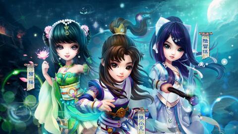 腾讯首款MMO手机游戏开发大作《梦幻诛仙》上线啦!