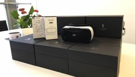 焰火工坊发布了极幕VR眼镜