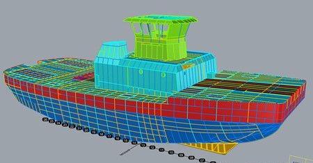 美国船级社和 Jensen Maritime联合完成3D建模试验