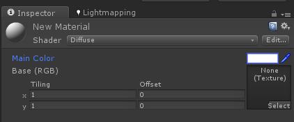 Unity3d游戏开发教程:Materials的属性