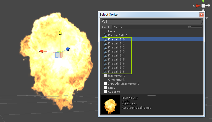 Unity3d培训中创建Spite动态精灵的步骤