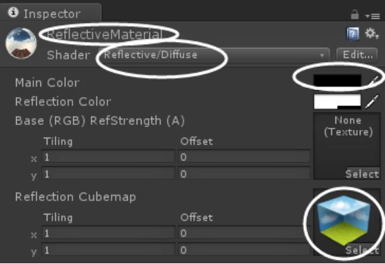 Unity3d游戏开发教程:制作简易的反射天空球